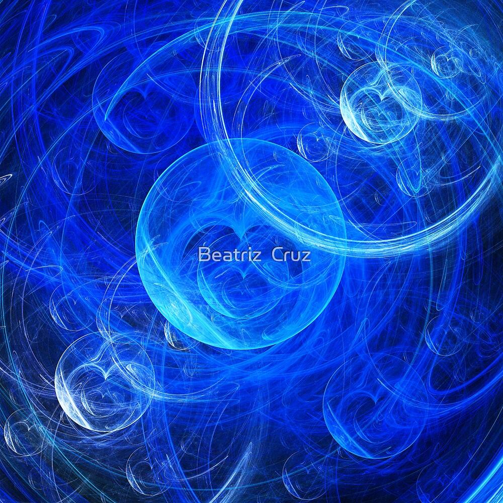 Bubbly Blues  by Beatriz  Cruz