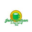 John Watson is my cup of tea by ileniamaranii