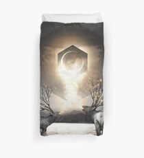 Moon Dust In Your Lungs Duvet Cover