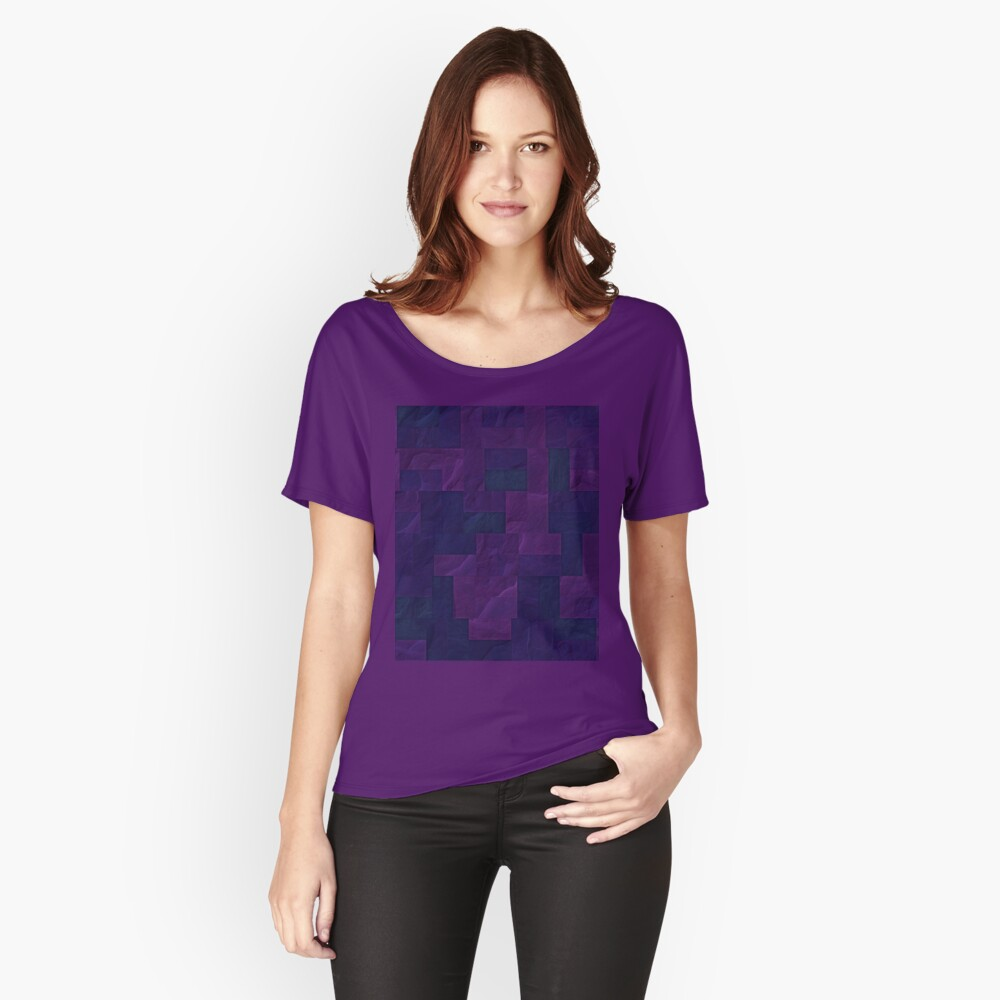 ShadowBlockCamo06 Women's Relaxed Fit T-Shirt Front
