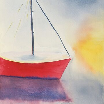 Sailboat by LisaQuenon