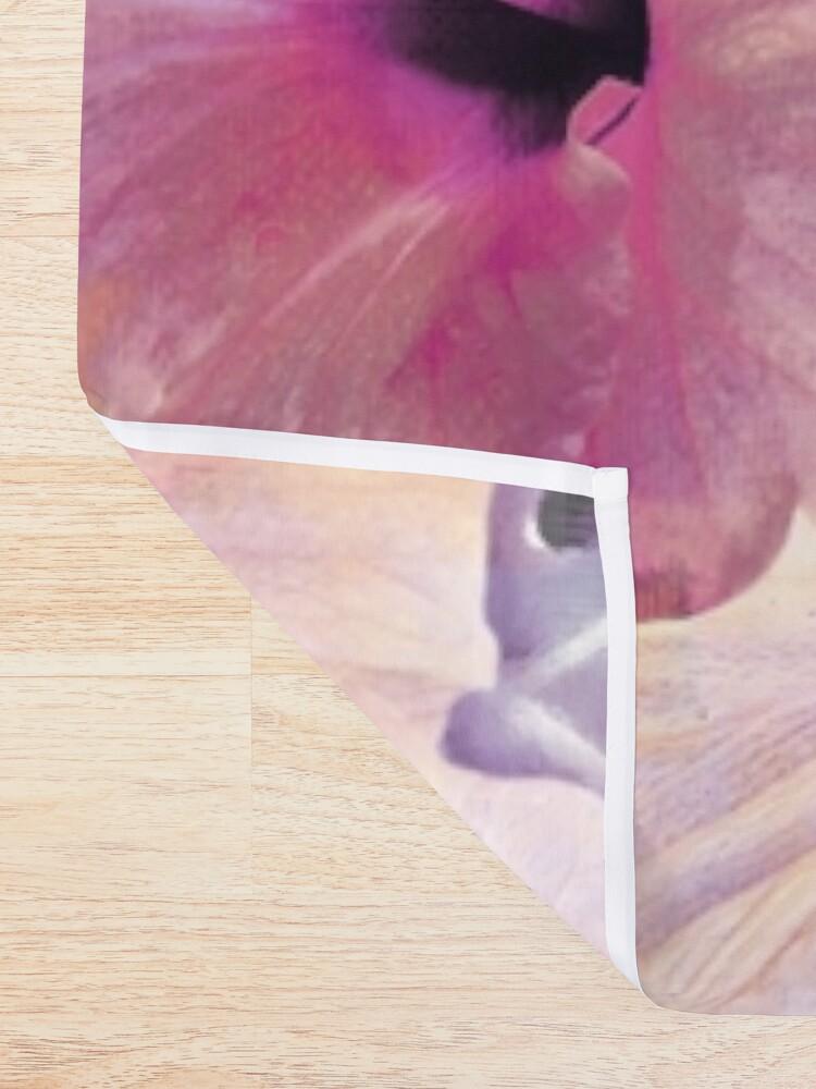 Alternate view of Violet Vintage Tropical Shower Curtain