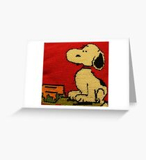 Hey Snoopy! Greeting Card