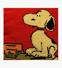 Hey Snoopy! Photographic Print