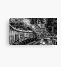 severn valley steamer Canvas Print