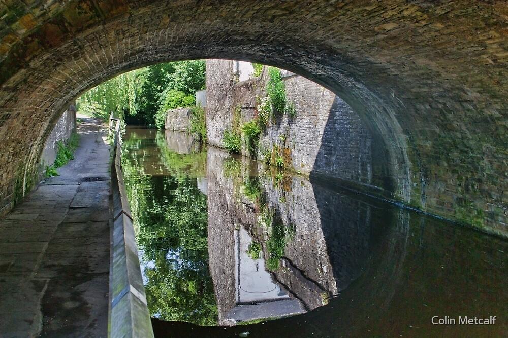 Mill Bridge, Skipton. by Colin Metcalf