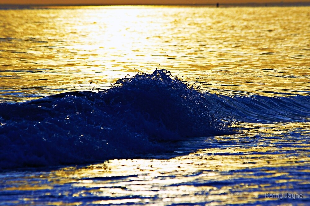 Wave At Sunset by Funmilayo Nyree