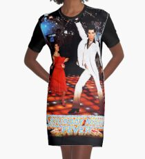 It's Saturday Night Fever, It's Disco Time !! Graphic T-Shirt Dress