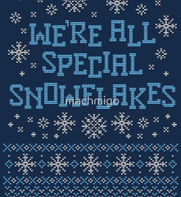 Special Snowflake by machmigo