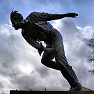 Statue Of Sir Freddie Trueman by Sandra Cockayne