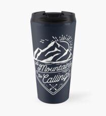 The Mountains Are Callings Travel Mug