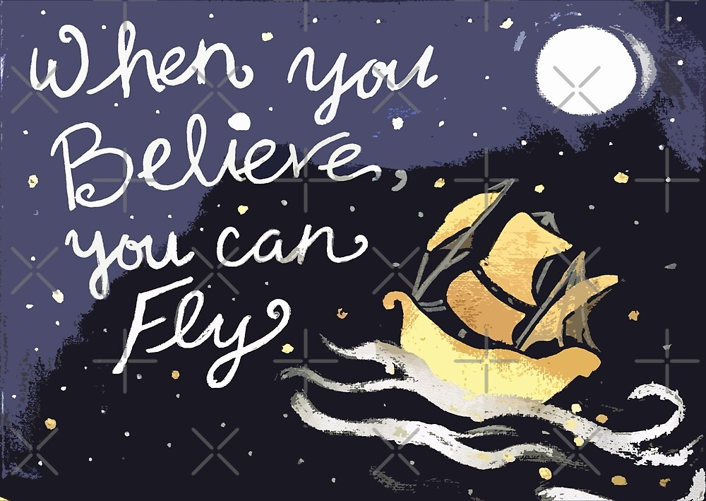 Believe you can Fly by Traci Maturo