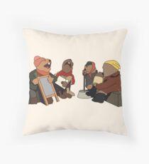 Emmet Otters Jug Band Throw Pillow