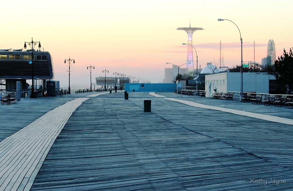 Boardwalk At Sunset by Funmilayo Nyree