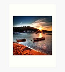 Teignmouth Estuary Art Print