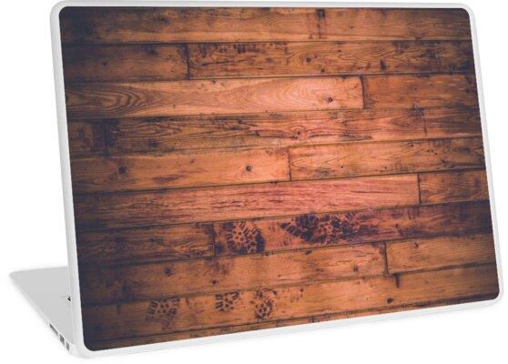 Wood Floor Paneling Laptop Skins By Leggings For Days Redbubble