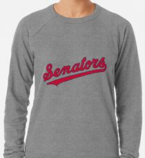 Washington Baseball - Vintage Senators  Lightweight Sweatshirt