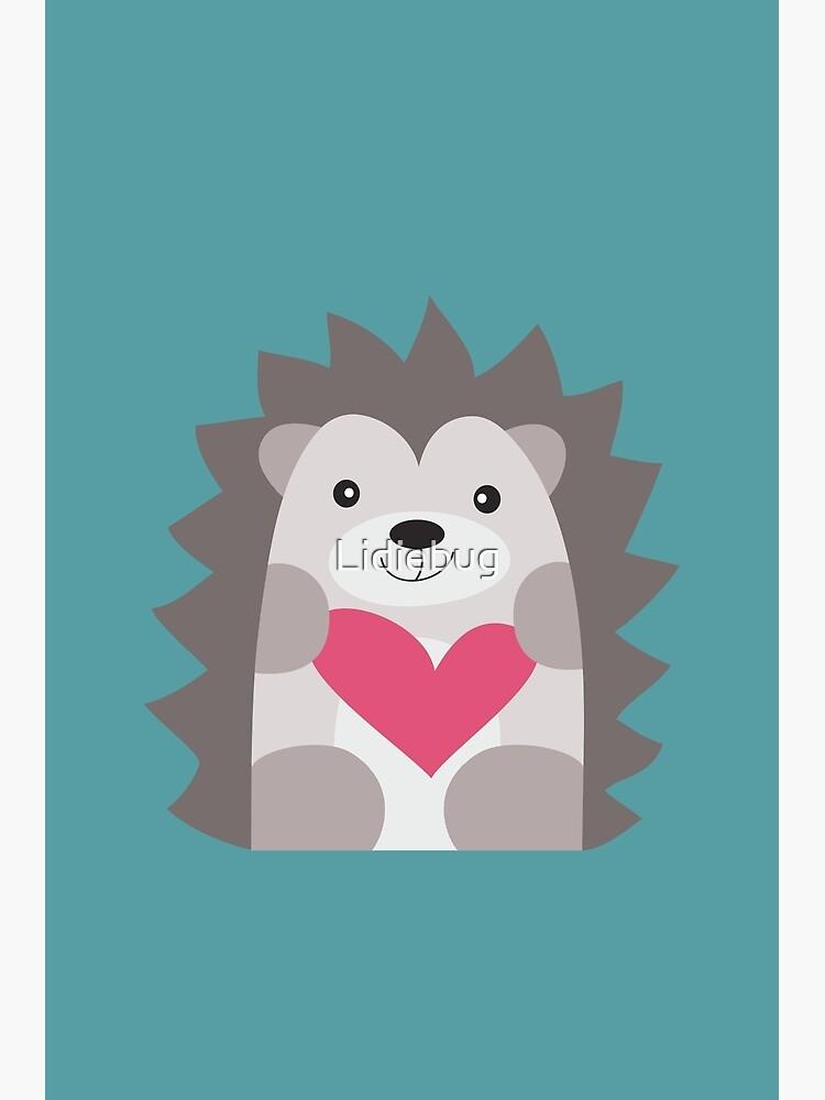 Hedgehog by Lidiebug