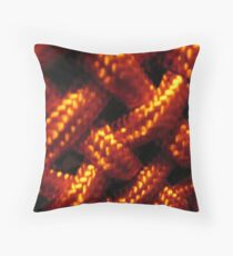Chinese knot decoration detail Throw Pillow