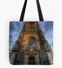 Derby Cathedral Tower Tote Bag