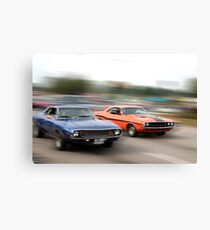 Muscle Cars Canvas Print
