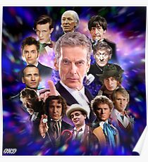 Doctor Who - Thirteen Doctors Poster