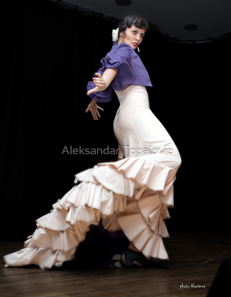 Flamenco nighte 2 by Aleksandar Topalovic
