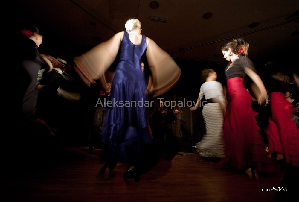 Flamenco nighte 4 by Aleksandar Topalovic