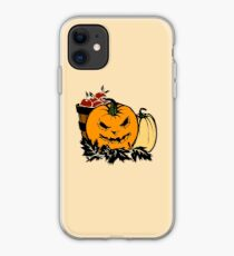 Halloween Gift and Decor - Scary Pumpkin Harvest - All Hallows Eve Present iPhone Case