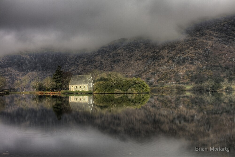 Morning Mist, Gougane Barra by Brian  Moriarty