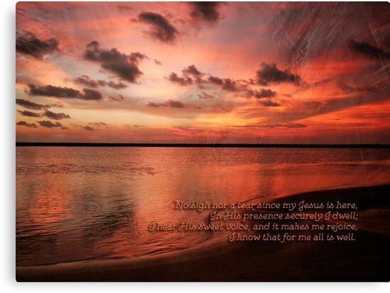 Sunset Religous Photo I by Capt. Charles McKelroy