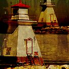 southampton lighthouse, or double vision by olga  hutsul