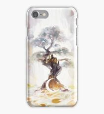 above a steeping moon. iPhone Case/Skin