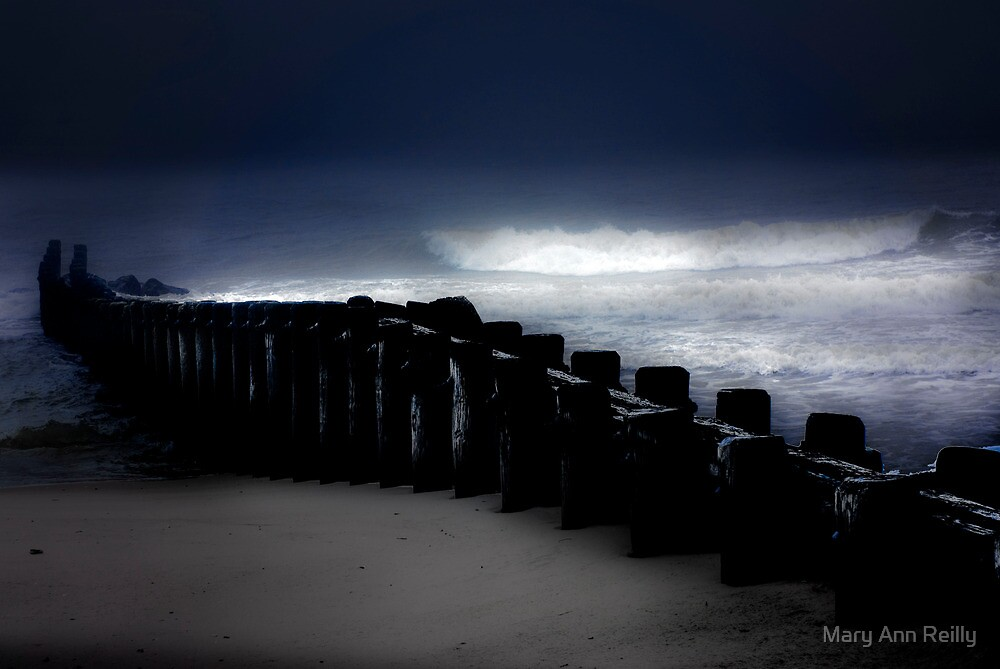 Storm and Sea by Mary Ann Reilly