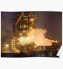 Redcar Steelworks Poster