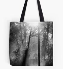 Morning at the Station take three Tote Bag