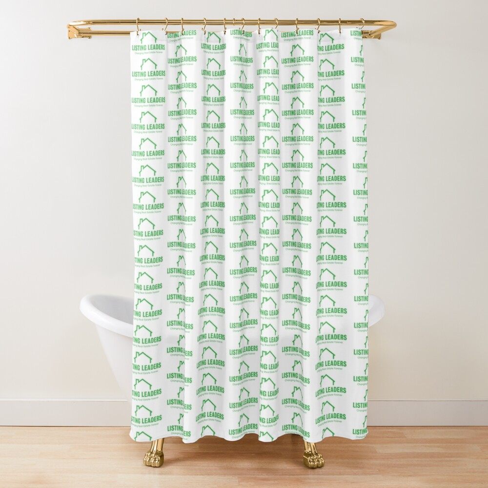 Listing Leaders Shower Curtin Shower Curtain