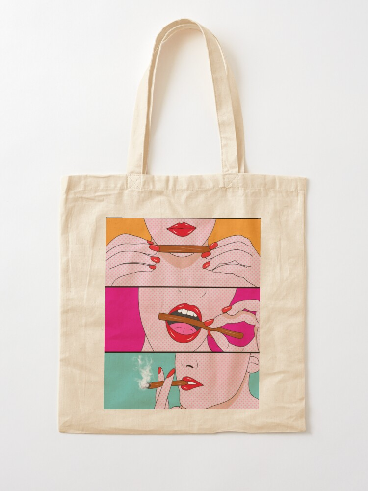 Alternate view of weed lady  Tote Bag
