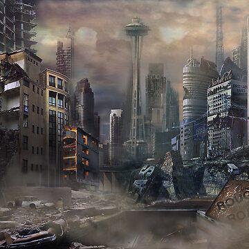Post-Apocalypse Landscape by itwirlchucks