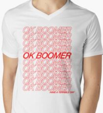OK Boomer V-Neck T-Shirt