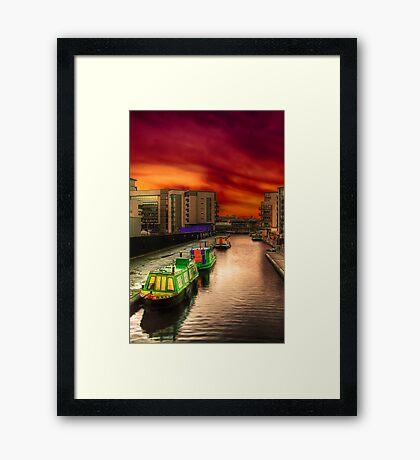 Lochrin Basin Framed Print