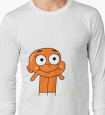 Hello Darwin Watterson! Long Sleeve T-Shirt