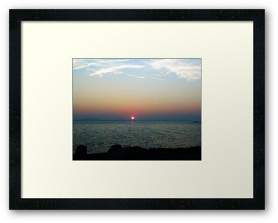 Peggy's Cove Sunset by Jann Ashworth