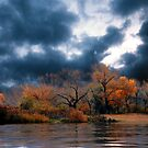Fishing in autumn by fenist