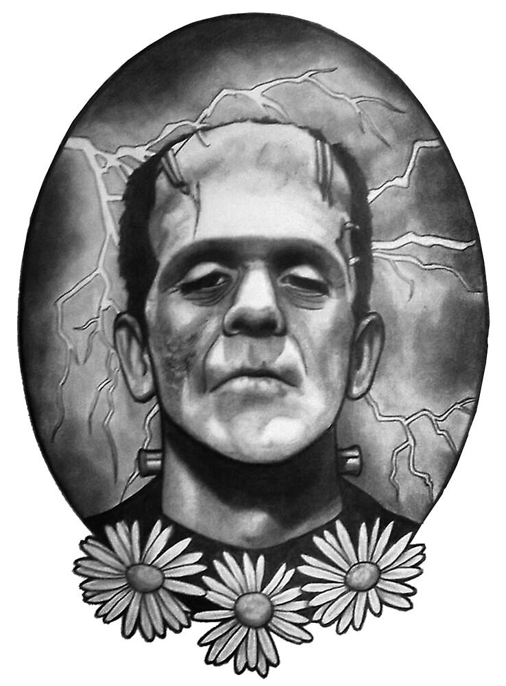 Boris Karloff as Frankenstein's Monster by rachelshade