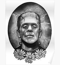 Boris Karloff as Frankenstein's Monster Poster