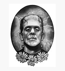 Boris Karloff as Frankenstein's Monster Photographic Print