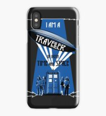 Traveller of Time and Space iPhone Case/Skin