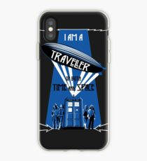 Traveller of Time and Space iPhone Case