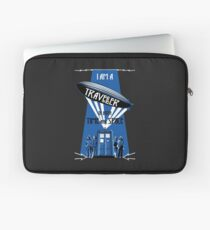 Traveller of Time and Space Laptop Sleeve